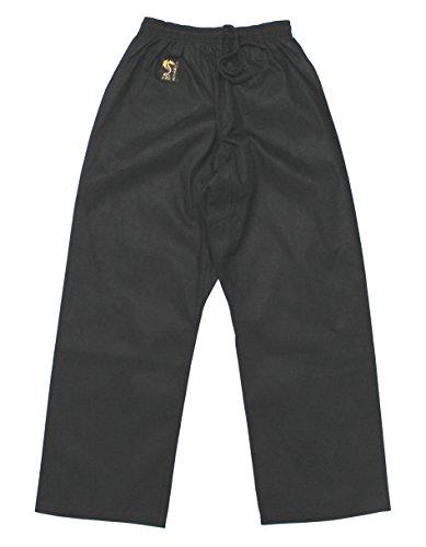 S.B.J - Sportland Baumwollhose/Kampfsporthose/Judohose/Karatehose schwarz (180)