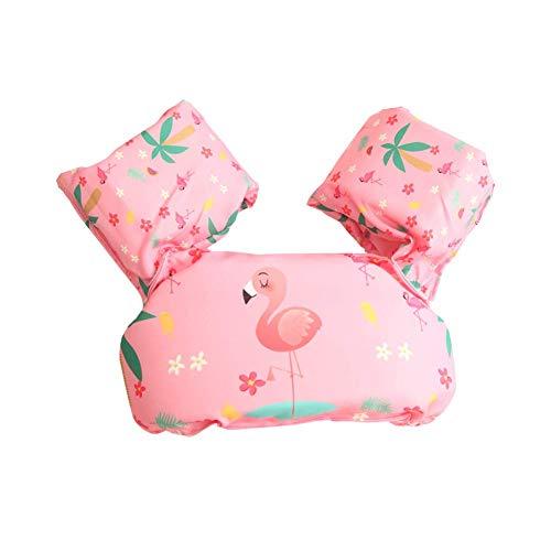 AOOPOO Schwimmflügel für Kinder Schwimmhilfe für Kleinkinder von 2-6 Jahre, 15-30kg Kinderschwimmweste für Jungen und Mädchen (Flamingo)