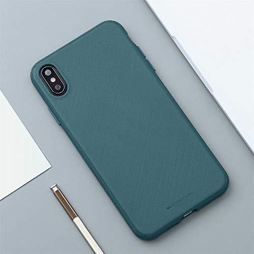 QINPIN ultradünne weiche TPU-Silikon-Matthaut-Kasten-Abdeckung für iPhone XS max/X/XS 5.8inch