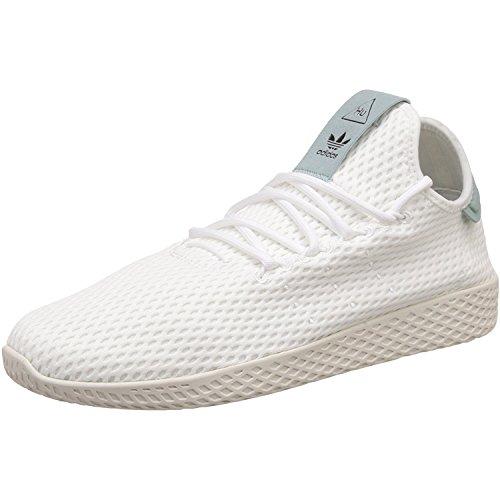 38d2e0f81f81e adidas Originals Pharrell Williams Tennis Hu White Green Textile 36 2 3 EU