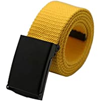 Cintura Uomo,WINWINTOM Unisex Plain Tessitura Uomini Boy
