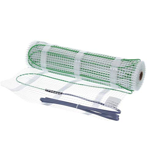 Elektro-Heizung 4,7m² Bodenheizung TWIN Heizkabel Flach 5* Qualität