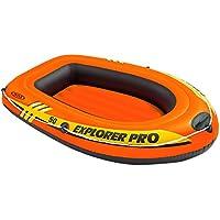 Intex - Barca hinchable Intex explorer para niños - 137x85x23 cm - 58354NP