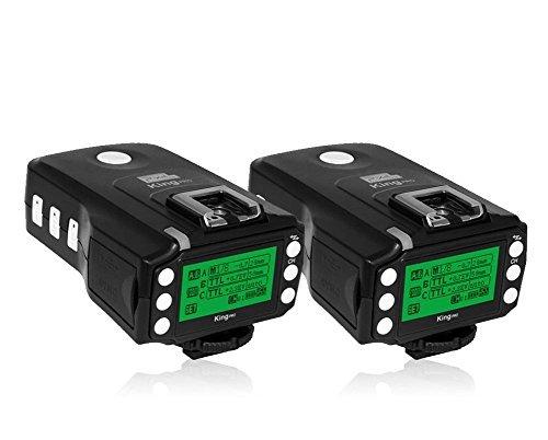 Pixel Wireless TTL Flash Trigger King Pro für Sony DSLR-Kamera mit Sony MI Blitzschuh Schnittstelle