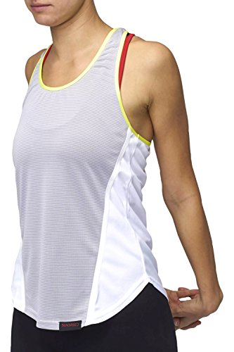Women's Gym Training Running Vest Workout Clothes by Sundried (Medium)