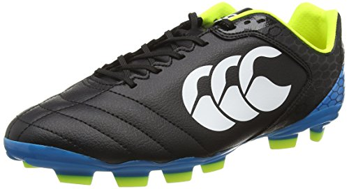 Canterbury Stampede Club Blade, Scarpe da Rugby Uomo, Nero (989 Black/Red/White), 42.5