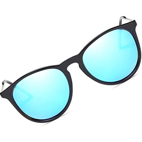 Daawqee Retro Cat Eye Polarized Sunglasses Women Retro Classic Women Sunglasses Designer Mirror 100% UV400 Uva Glasses Female no case Silver