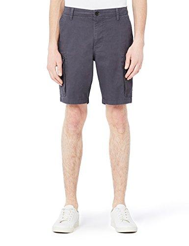 MERAKI Herren Shorts Cargo, Grau (Charcoal), 50 (Herstellergröße: M) (Chino-shorts Charcoal)