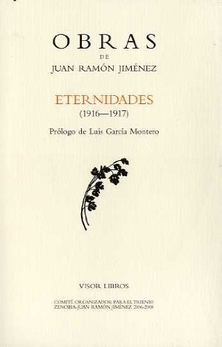 Eternidades (1916-1917) (Obras Juan Ramon Jimenez) por Juan Ramon Jimenez