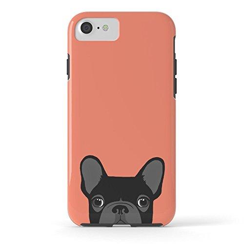 Roses Garden Handy Schutzhülle protectivedesign Hartschale Hülle French Bulldog Tough Schutzhülle iPhone 7 Bulldog-handy-fall