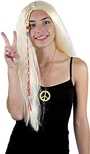 Party Pro-perruque, unisex adulto, 86295, de oro, talla única