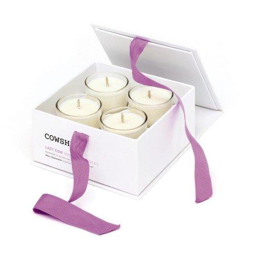 Cowshed - Set di candele, 4 x 5 cl, durata 10 ore ciascuna