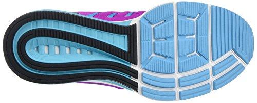 Nike Wmns Air Zoom Vomero 11, Gymnastique femme Bleu (Hyper Volt/Black Gamma Blue Urban Lilac)