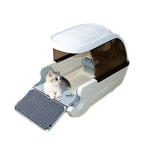DD Automatische intelligente Katzentoilette vollständig geschlossene automatische Katzentoilette...