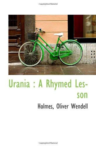 Urania : A Rhymed Lesson