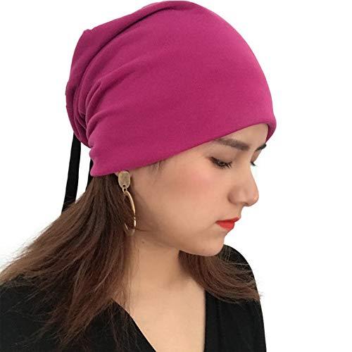 Sanjiayi Männer Frauen Winter Warm Unisex Knit Ski Crochet Slouch Hut Mütze Beanie Hip-Hop-Hüte,red Knit Slouch Hut