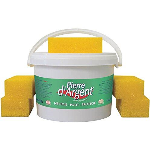 Pierre d'Argent 4kg - Pierre blanche naturelle de nettoyage