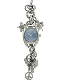Chronotech CHARMS - Reloj analógico de mujer de cuarzo con correa de acero inoxidable