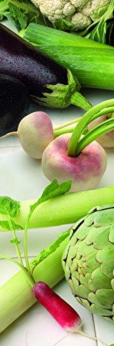 Plage Verduras Vinilo Adhesivo para la Cocina