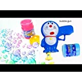 Doraemon Bubble Gun Cute Bubble Toys Bubble Shooter Bubble Machine Bubble Pipe(Set Of 2)