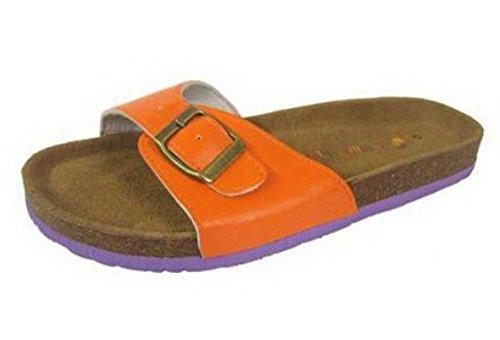 Sandali Stile Signore Orange Classic Pantofola In znWFEPq