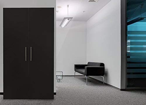 respekta Single Büro Pantry Küche Miniküche Schrankküche schwarz