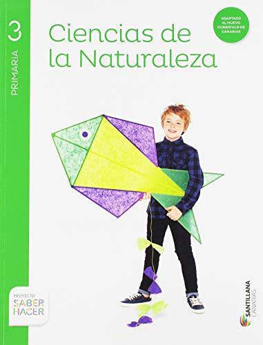 CIENCIAS NATURALES 3 PRIMARIA SANTILLANA CANARIAS - 9788468095981
