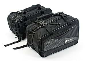 Autokicker Tour Series Saddle Bag Kit For Motorcycles & Motorbikes