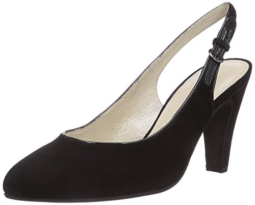 GERRY WEBER Shoes Josie 03 Damen Slingback Pumps Schwarz (schwarz 100)