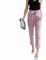 Leey Femmes Sexy Haute Taille Bande Mode Souple Marin Taille Haute Laine  Velours Bordeaux Coupe Carotte e7f64d491042