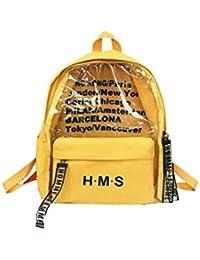 27a1531412399a Krstay Zaini Scuola Media Multifunzione Casual Daypack Moda Zaini Tela  Semplice Personaggi Università Zaino Per Laptop Unicolor Square…