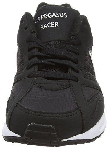 Nike Herren Air Pegasus New Racer Laufschuhe Schwarz - Noir (Black/White/Black/Neutral Grey)
