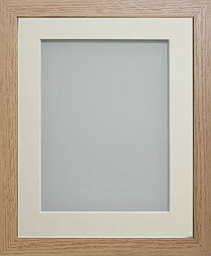 Frame Company Allington Range Bilderrahmen, Holz, Beech, 12 x 10 Inches Mounted for 10 x 8 Inches Image (Frames 8x12)