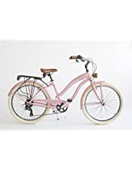 Bicicleta Cruiser Mujer Made in Italy Via Veneto, pink lady