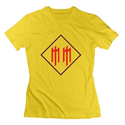 Nana-Custom Tees Damen T-Shirt Gr. xl, Schwarz - Gelb - 5 Fällen Lifeproof Ipod
