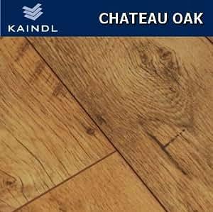Kaindl chateau oak laminate flooring 8mm v groove for 8mm wood floor underlay