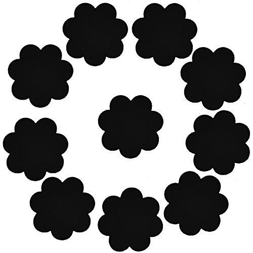 YPS Damen Klassischer BH 43pairs Mixed style full Einheitsgröße Gr. Einheitsgröße, 5 Pairs Flower Black (Hand Bh Kostüm)
