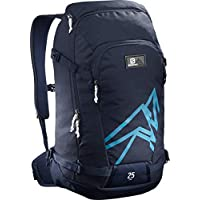 Salomon L40371900 Zaino Leggero da Sci 25 l Side 25, Blu (Medieval Blue/Hawaiian Surf)