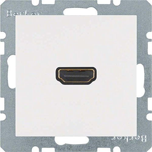 Price comparison product image Hager – Toma High Definition S-B with 90º connector white polar Brightness