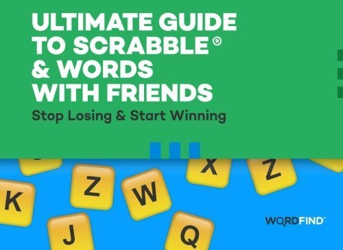 Ultimate Guide to Scrabble & Words With Friends: Stop Losing & Start Winning by Shimoda, Dave (2015) Paperback