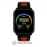 Sport Smart Uhr Watch Armband sport Uhr,Fitness Tracker,Ringing Erinnerung,Schlafüberwachung,Leben wasserdicht,Pulsmesser,Intelligente uhr Aussehen Vogue,mit Datum und Temperatur Anzeige