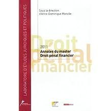 Master 2 Droit pénal financier