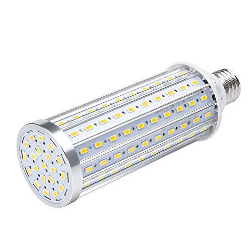 45W E27 LED Mais Lampe, Warmes Weiß 3500K Energiesparlampe Hochleistung 4800Lumen, LED Maiskolben Birnen 360°Abstrahlwinkel für Garten Garage Gaststätte Hotel und Werkstatt[Energieklasse A++] -