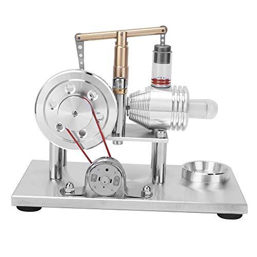 Modell eines Stirlingmotors, Miniatur-Modell eines Heißluftstromerzeugers für physikalische Kits für Schulunterrichtsgeräte -