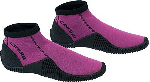 Cressi Low Boot Neopren Tauchschuhe, Pink, XS (EU 36/37)