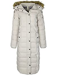 DreiMaster - Abrigo con capucha amovible 37834892 - Mujer