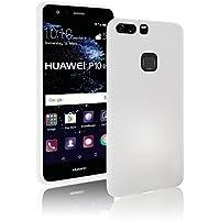 Huawei-P9-lite Hülle Case | weiß matt | SOFT TOUCH TPU | Perfekter Schutz | Schutzhülle Matt verschiedene Farben Huawei P9 lite Cover - Movoja® Huawei P9-lite Weiß