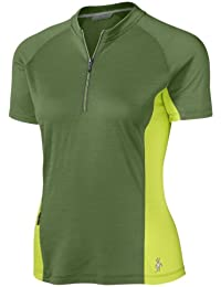 SmartWool Damen Radsportshirt COTTONWOOD JERSEY