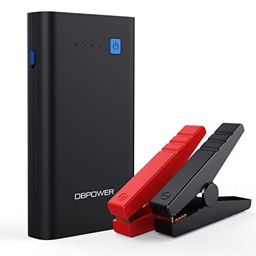 DBPOWER 500A 10800mAh Batterie Demarreur Portable, Booster de Démarrage pour Voiture, Batterie d'Appoint d'Urgence, Batterie Portable avec QC3.0 et Sortie de Type C, Voyants LED avec 3 Modes