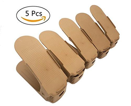 PICCOLI MONELLI Set 5 STK Schuhregal für Schuhe, Stauraum, ideal zum Organisieren von Schränken, Aufbewahren und Aufbewahren in Ordnern Die Schuhe